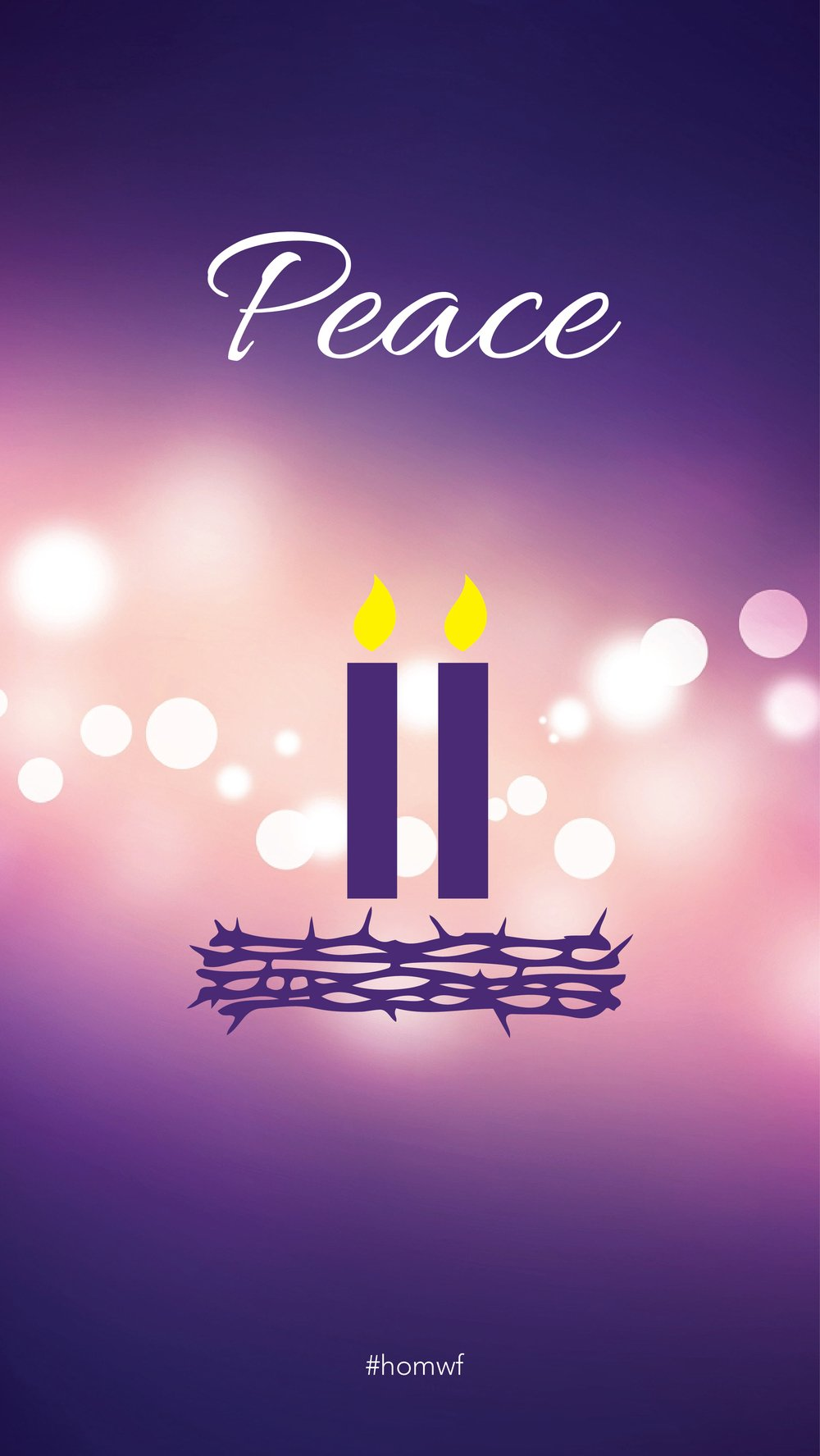 Sunday's Advent Candle